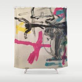 Ara Lost Shower Curtain