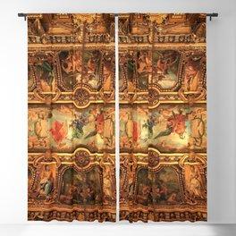 Midnight with Botticelli, Raphael, Michelangelo, & Perugino, Sistine Chapel, Rome Blackout Curtain
