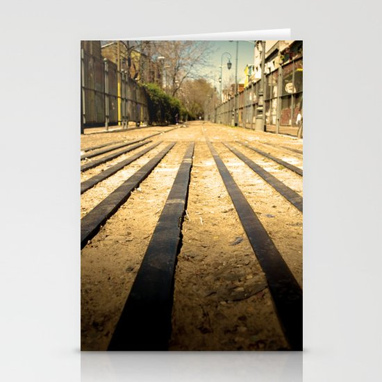 Train Line Stationery Cards