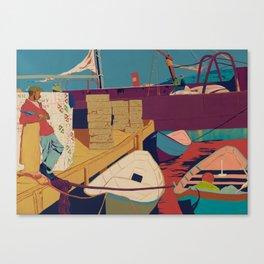 Rum Runners Canvas Print