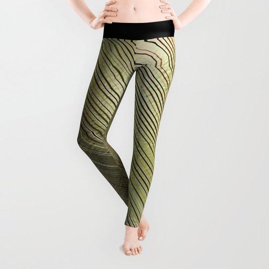 Golden Stripes Leggings