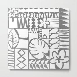Chachani - White Metal Print