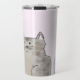 Cute and lovely cat Lupita Travel Mug