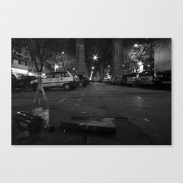 Under the Metro Canvas Print