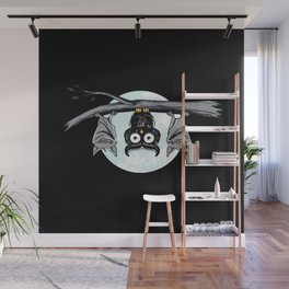 Cute Owl With Friends Wall Mural