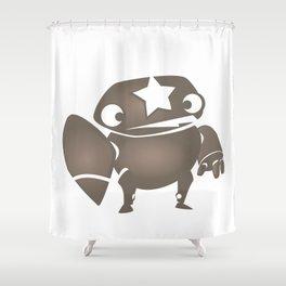 minima - slowbot 004 Shower Curtain