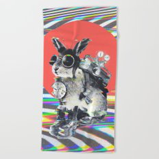 Time Traveller Beach Towel