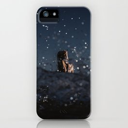 Long point blues iPhone Case