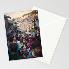 The Road to Kiyomizu, Kyoto, Japan 2015 Stationery Cards