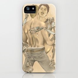 Do androids dream of electric bees? iPhone Case