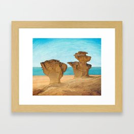 Gredas from Bolnuevo Framed Art Print