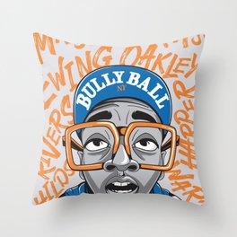 90's Bully Ball Throw Pillow