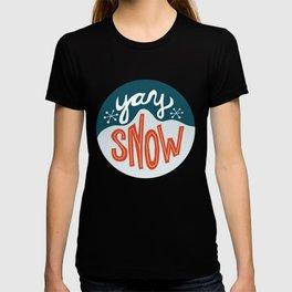 yay snow T-shirt