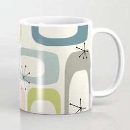 Mid Century Modern Shapes #society6 #buyart Coffee Mug