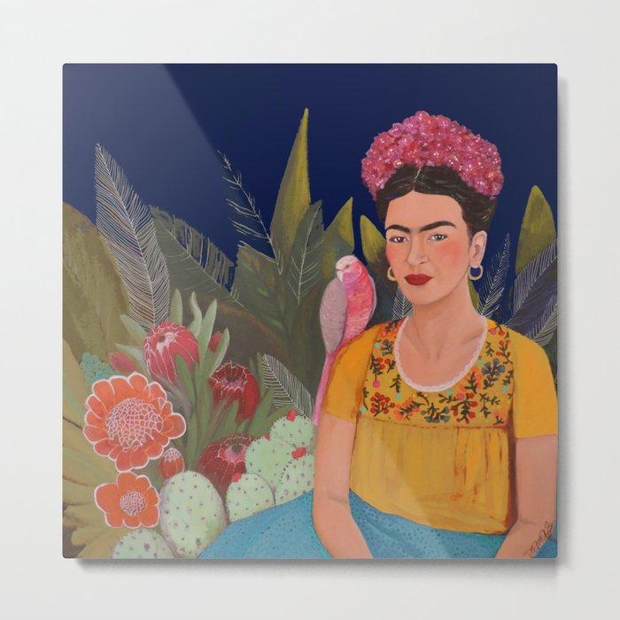 Frida.licious Metal Print