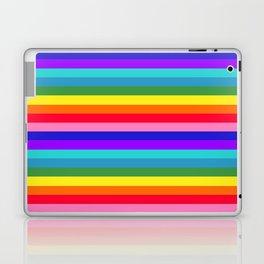 Stripes of Rainbow Colors Laptop & iPad Skin