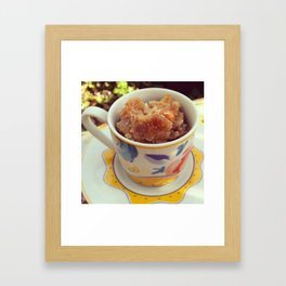 Apple Brown Betty Framed Art Print