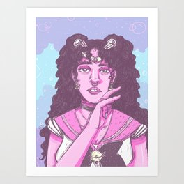 Sailor Twigs Art Print