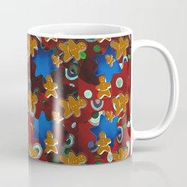 Gingerbread Men and Cinnamon Stars Coffee Mug