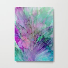 ALCOHOL INK Cvb Metal Print
