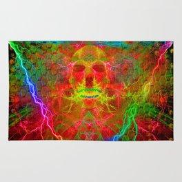 Electric Skull Rug
