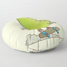 The Pear Skater Floor Pillow