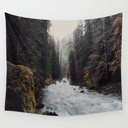 Foggy with a chance of rain Wall Tapestry