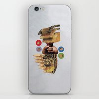 burger iPhone & iPod Skins featuring Burger by Lerson