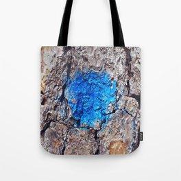 NVSV SPCS_blue blaze Tote Bag
