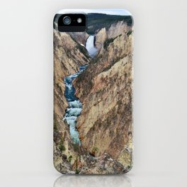 Grand Canyon of the Yellowstone - Yellowstone National Park iPhone Case
