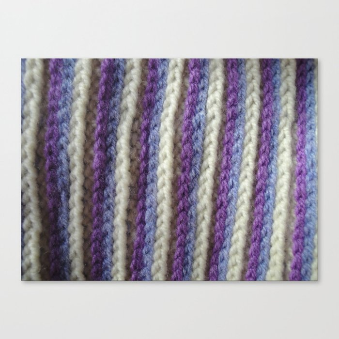Crochet Close-up Canvas Print