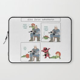 ecks forse adventures #1 Laptop Sleeve
