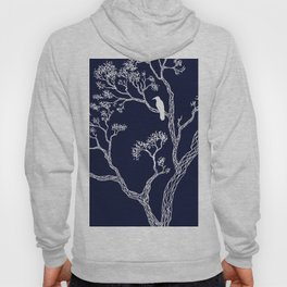 Crow in a tree Hoody