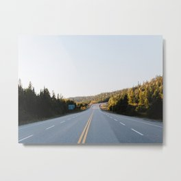 Lake Superior Provincial Park - Ontario, Canada | road - landscape - print - photo - nature - poster Metal Print