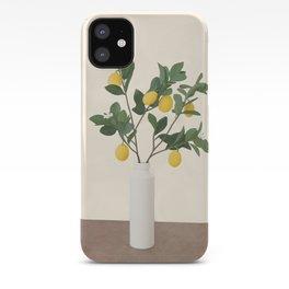 Lemon Branches II iPhone Case