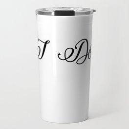 i do Travel Mug