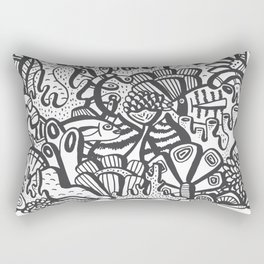 Life Aquatic Rectangular Pillow