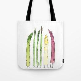 Asparaguys Tote Bag