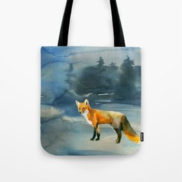 Winter forest 3 Tote Bag