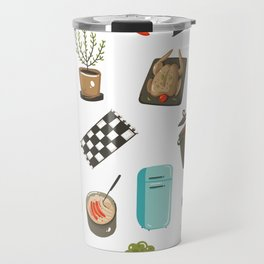 Retro Cooking Travel Mug