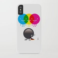 CMY makes K dizzy Slim Case iPhone X