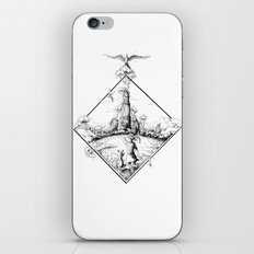 Walking to the Old World iPhone & iPod Skin