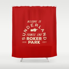 Roker Park Football Ground Shower Curtain