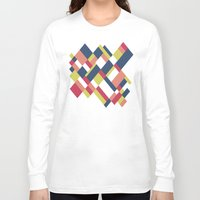 matisse Long Sleeve T-shirts featuring Map Matisse by Project M