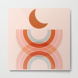 Cradle the moon - twilight Metal Print