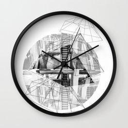 Pyramid_1 Wall Clock