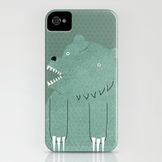 Friendly Bear iPhone (4, 4s) Slim Case
