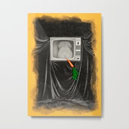 Carrot tv ad Metal Print