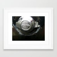 pocket fuel Framed Art Prints featuring FUEL by Hayley Westling