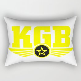 Soviet KGB Logo Rectangular Pillow